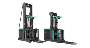 New high level order picker from Mitsubishi Forklift Trucks impresses operators
