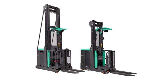 New high level order picker from Mitsubishi Forklift Trucks impresses operators