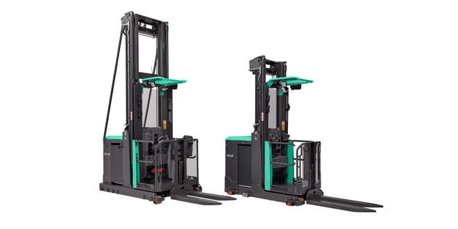 New high-level order picker from Mitsubishi Forklift Trucks impresses operators