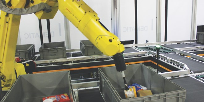 Drakes Supermarkets chooses Dematic Robotic Picking System In Australian first deployment