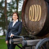 Marjatta Rissanen Customer Service and Administration Director Olvi Brewery