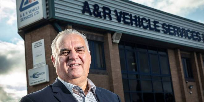Gary takes the helm at A&R Vehicle Services