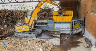 Swiss waste expert overhauls biomass with UNTHA shredder