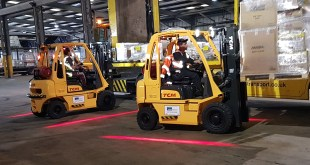 TCM FUEL SAVINGS AND SMARTER WORKING FOR FORKLIFT FLEET