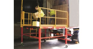 Thorworld makes spotless job of supplying loading platforms for Robert Scott