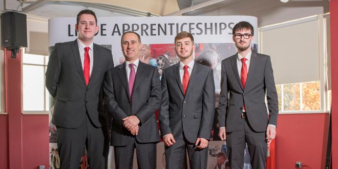 Apprentice success at Linde's annual awards