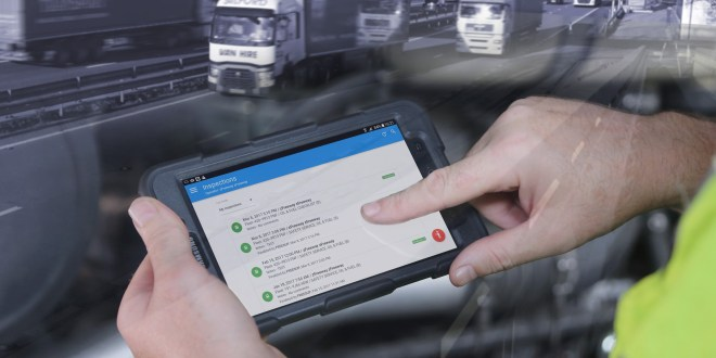 Compliance drives transport operators to digital working with Freeway Mobile Apps