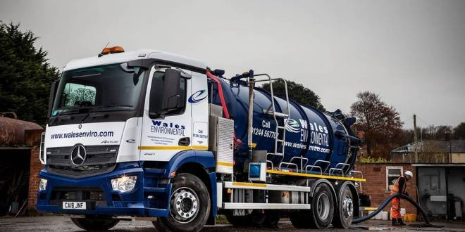 Cost savings flow after Wales Environmental switches to new Mercedes-Benz trucks