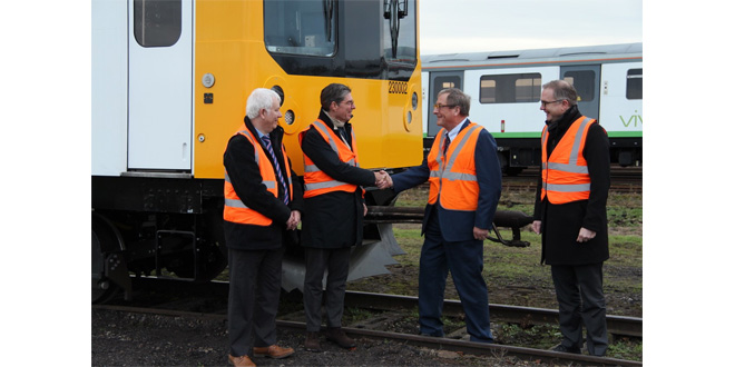 Hoppecke secures Vivarail deal for UKs first battery powered passenger train