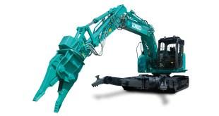 Kobelco strengthens its demolition and vehicle dismantling range