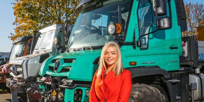 Mercedes-Benz appoints Katie Purcell as Head of Special Trucks – Unimog