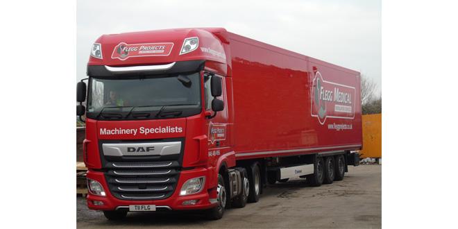 Flegg move big machines with Krone loading flexibility