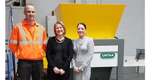 Hat-trick of appointments for shredder specialist UNTHA UK