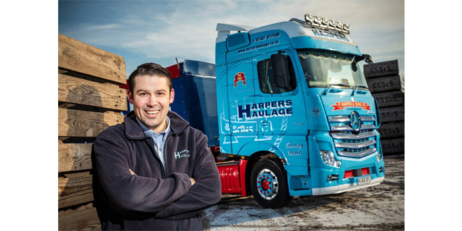 Vegetable haulier picks a winner with Mercedes-Benz Actros from Intercounty Truck & Van