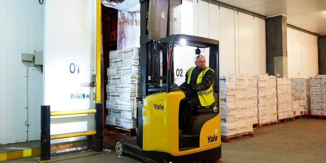 Yale Europe Materials Handling Sub-zero temperatures does not mean sub-zero
