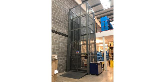 Advanced Handling Optimise Gardiner Bros & Co New Facility with Bespoke Goods Lift