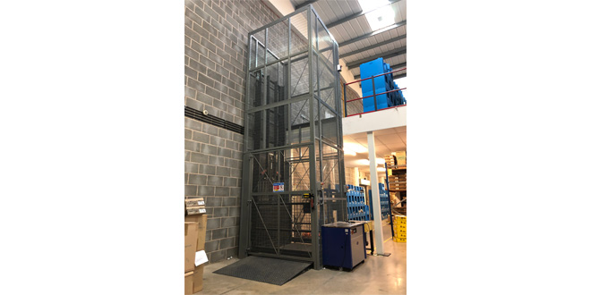 Advanced Handling optimise Gardiner Bros & Co's new facility with bespoke goods lift