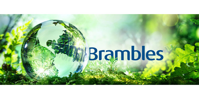 Brambles among the top three sustainable companies in the world
