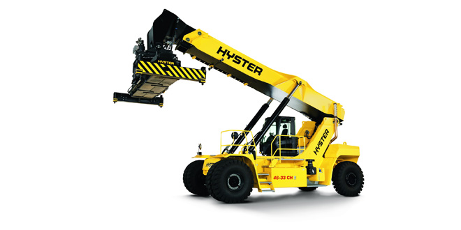 Hyster to develop electric reachstacker for Port of Valencia
