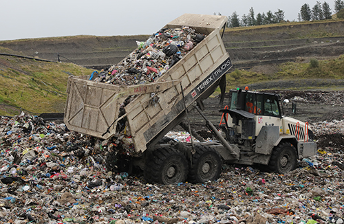 Terex Trucks increases productivity at Scottish waste recycling centre
