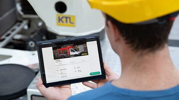 PALFINGER instructable digitalises technical handover in the rental industry