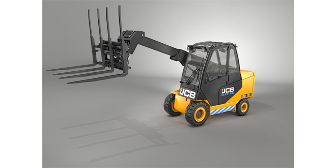 Unique JCB Teletruk goes electric to reach new markets