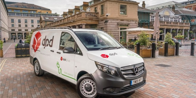 DPD adds to all-electric fleet with UK's first Mercedes-Benz eVito vans
