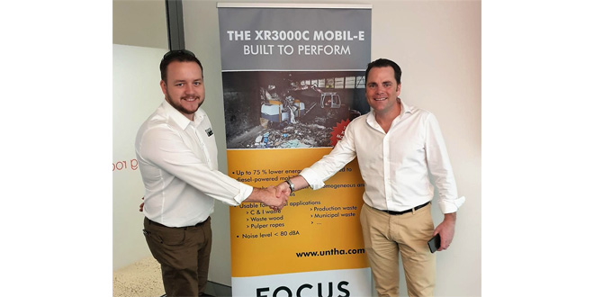 FOCUS Enviro becomes exclusive UNTHA distribution partner in Australia