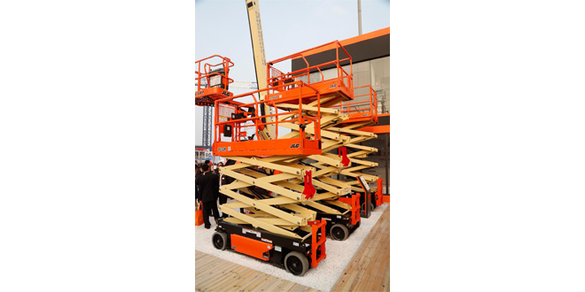 JLG introduces mobile control app