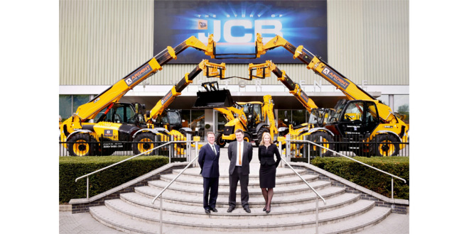 Ardent places biggest ever UK Loadall order with JCB