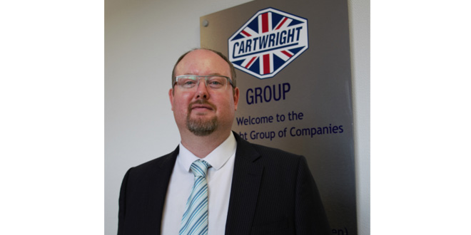 CARTWRIGHT SALES TEAM STRENGTHENED BY A NEW KEY APPOINTMENT