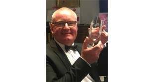 Cepac Martin Hackney with gold award