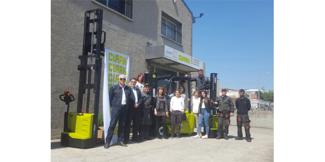 Clark Europe expands sales in Barcelona