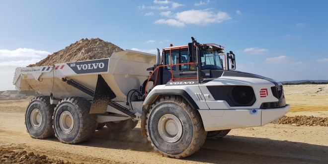 Eiffage chooses Volvo dump trucks equipped with Allison transmission