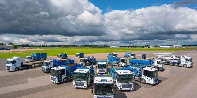 Kilnbridge raises the safety bar with 22 low-height Mercedes-Benz trucks