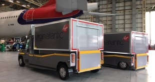 Rushlift GSE kits out Virgin Atlantic with drop box solution for handling aircraft tyres