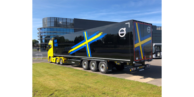 Volvo returns to Krone for high quality trailers