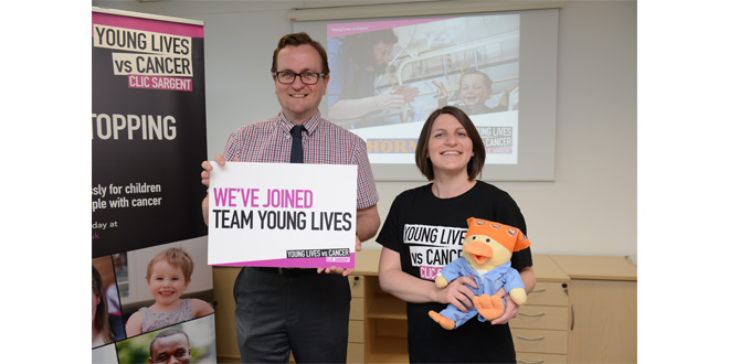 Hörmann UK supports CLIC Sargent in Cancer Awareness Month