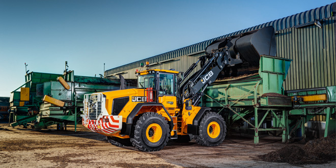 JCB updates Wastemaster wheeled loaders