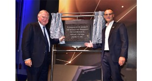 Lord Bamford officially opens new 50 million GBP JCB Germany HQ