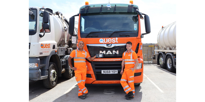 Quest Waste Management Deploys BigChange Mobile Technology