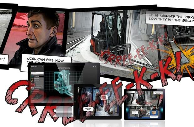 RTITB eTruck Comic Strip