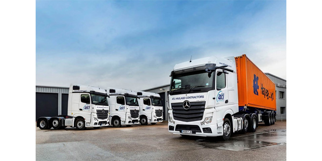 ATL's 20 new Mercedes-Benz Actros hit the ground running