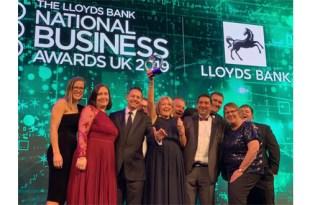 DPD UK wins Customer Experience & Loyalty Award at the 2019 National Business Awards