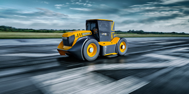 GKN Wheels & Structures supports JCB Fastrac the worlds fastest tractor