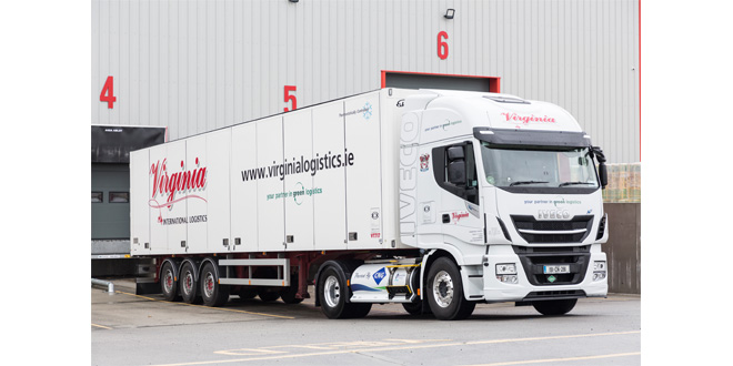 International logistics operator chooses Ekeri trailer for secure and flexible loading