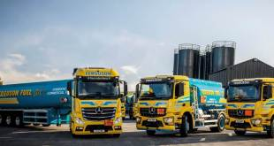 Mercedes-Benz trucks oil the wheels of success for fuel haulier P Ferguson & Sons