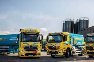 Mercedes-Benz trucks oil the wheels of success for fuel haulier P Ferguson & Sons