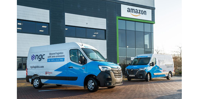 AMAZON DELIVERY SERVICE PARTNER, NGC LOGISTICS