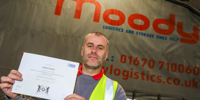 Former Driver of the Year handed managerial role at Moody Logistics